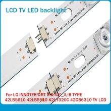 NOVO LED Backlight Tira para LG 42LB5610 42LB5800 42LB585V 42LB DRT 3.0 42 A/B 6916L 1709A 1710A 6916L 1957A 1956A