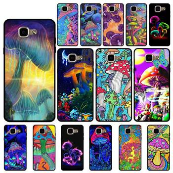 YNDFCNB Trippy Mushroom Phone Case for Samsung A6 A8 Plus A7 A9 A20 A20S A30 A30S A40 A50 A70 image
