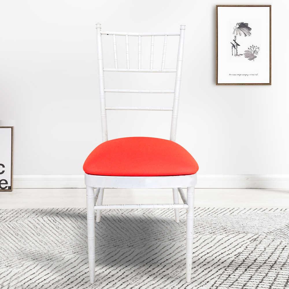 Odpinany elastan Stretch elastyczny pokrowiec na krzesło pokrowce na krzesła jadalnia krzesło bankietowe ślubne pokrowce zmywalne narzuty Decor