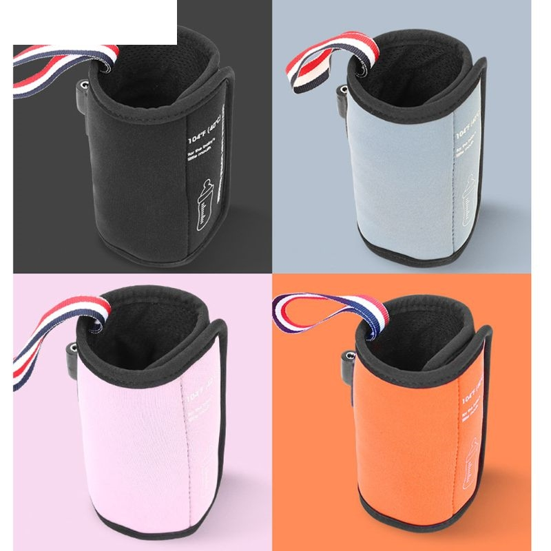 1PC USB Baby Bottle Warmer Portable Milk Travel Cup Warmer Heater Infant Feeding Bottle Bag Storage Cover Insulation Thermostat