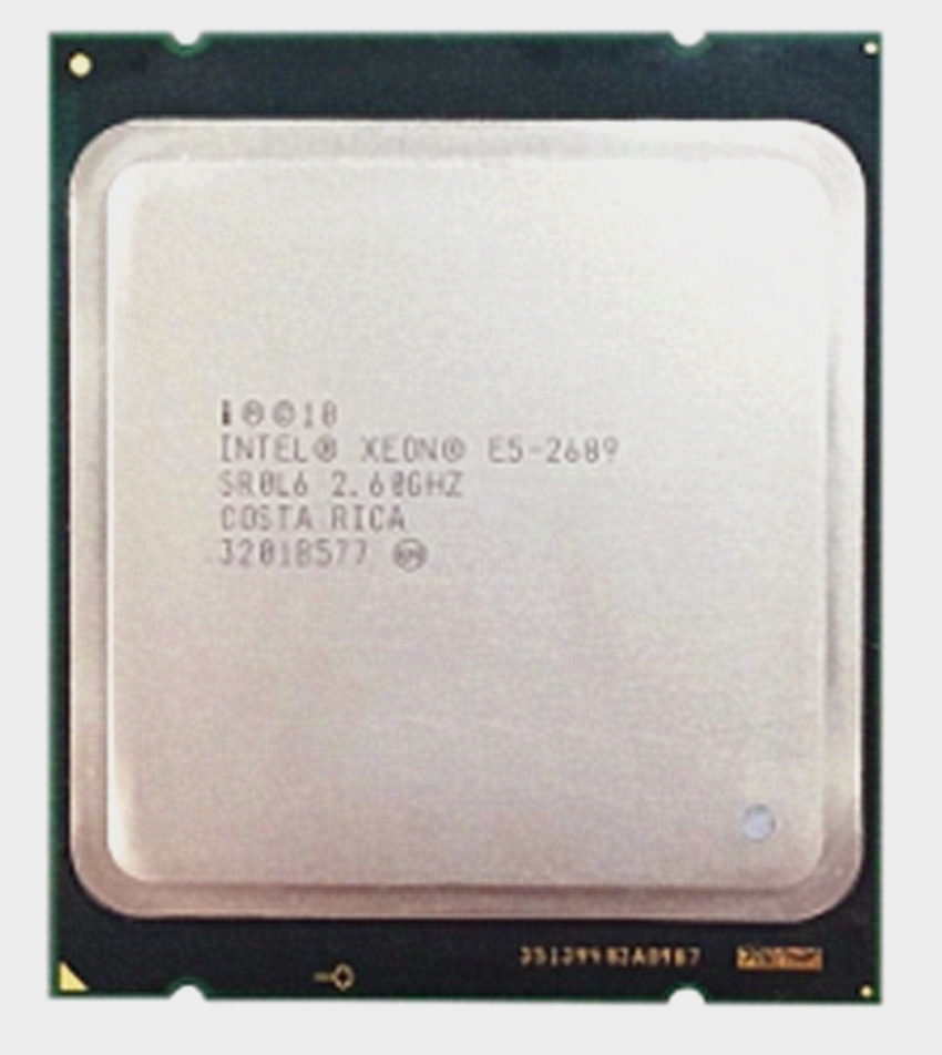 Intel Xeon E5 2689 LGA 2011 2.6GHz 8 Core 16 Threads CPU Eight-Core Sixteen-Thread CPU Processor 20M