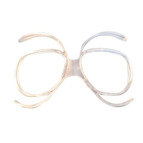 Óculos de Esqui Quadro para Snowboard Miopia Quadro Inline Óculos Adaptador 10 Pçs Mod. 291733
