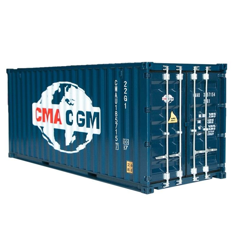 collectible brinquedo modelo presente 1 20 escala cma cgm transporte expresso 20 gp caminhao navio recipiente