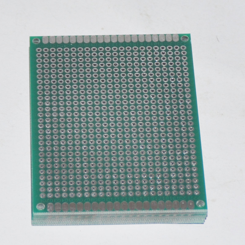 Ultimate SalePcb-Board Prototype-Card Universal-Dot Double-Sided 5PCS 6X8CM Bricolage