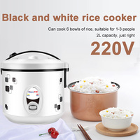 Mini Rice Cooker Electric Cooker Heating Lunch Box Portable Multifunctional Huaqiang 2L 220V Real Egg Cook Soup