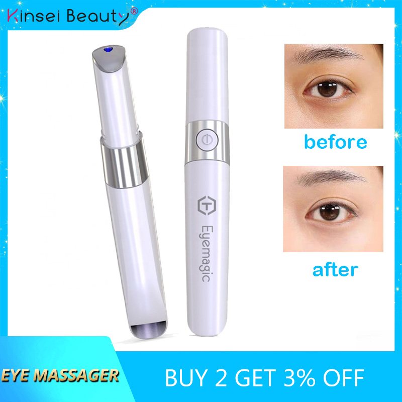 Nanotime Eyemagic Beauty Anti Wrinkle Pen Mini Eye Massage Device Electric Facial Vibration Magic Stick Skin Care Beauty Tool