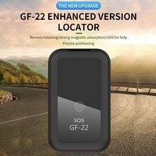 2021 neue GF22 Auto GPS Tracker Starke Magnetische Kleine Lage Tracking Device Locator für Auto Motorrad Lkw Aufnahme