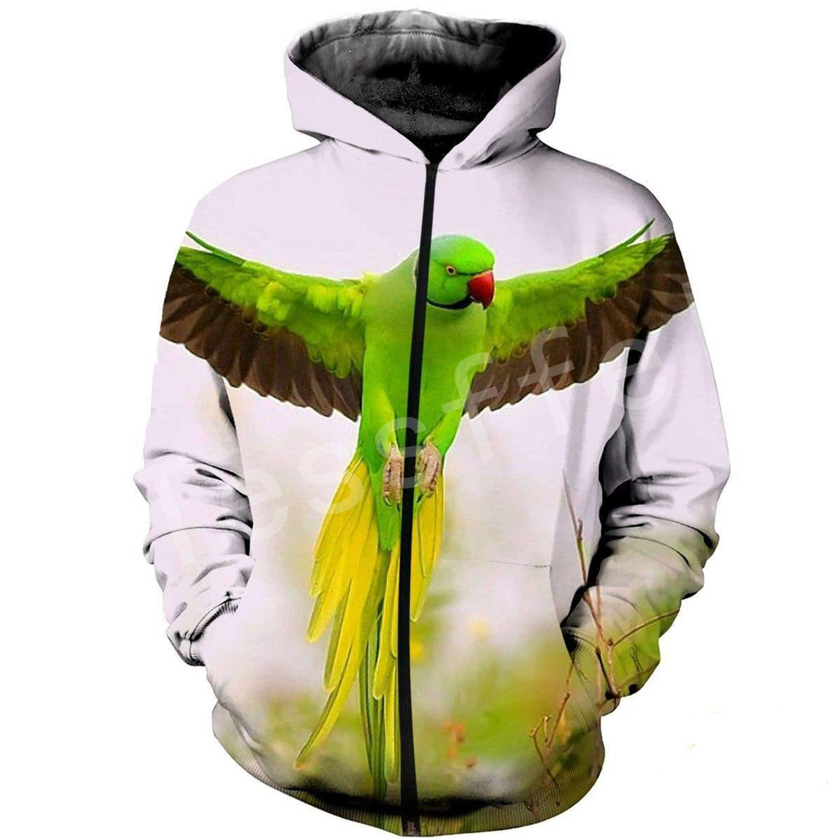 Tessffel Animal Parrot Tracksuit MenWomen HipHop 3Dfull Printed Sweatshirts Hoodie shirts Jacket Harajuku Casual colorful Style4 in Hoodies amp Sweatshirts from Men 39 s Clothing