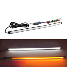 DRL Strobe Light Turn Signal Sequential Flowing LED DC 12-24V 6500 k IP67