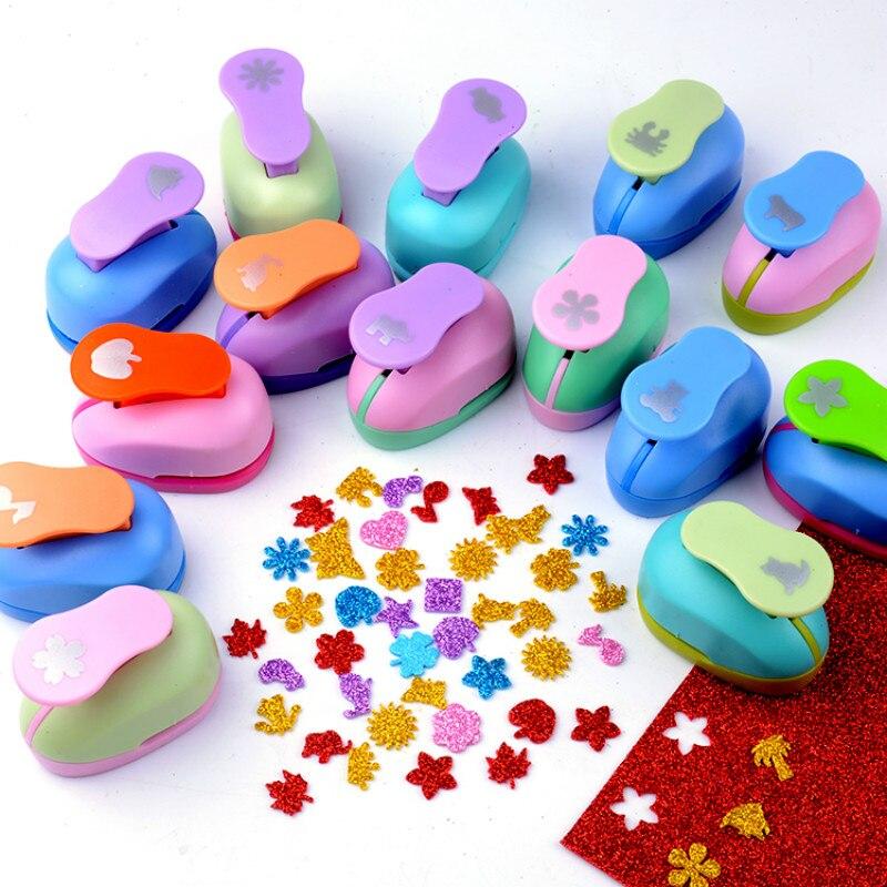2.5cm Flowers Punch DIY Craft Punches Scrapbook Puncher Foam Scrapbooking Cutter Eva Punch Kids Embossing Paper Hole