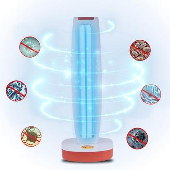 38W UVC Quartz Sterilizer Kill Virus Remote Control Led Germicidal Lamp Timing Disinfection Light Home School Office фото