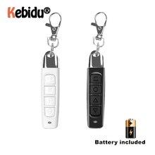433MHz télécommande sans fil avec porte clés clonage duplicateur 4 boutons électrique Portable contrôleur de copie pour porte de Garage