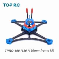 TPRO-Kit de armazón de cuadricóptero con estampado 3D, cubierta de TPU para FPV RC Mini Drone, 2,5 pulgadas, 100mm, 3 pulgadas, 130mm y 4 pulgadas, 160mm, 3K