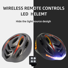 Bike Helmet Bicycle Smart Rechargeable New USB with Wireless Steering-Turning Signal-Handlebar