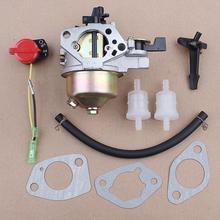 цена на Carburetor Kit for Honda GX240 GX340 GX390 8HP 11HP 13HP 188F 16100-ZF6-V01 Gas Engine Motor Generator Fuel Filter