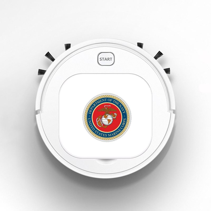 Smart Robot Vacuum Cleaner Rechargeable USB Auto Sweeping Mop Clean Robot Sweeping Cleaner Funny USMC Marine Corps