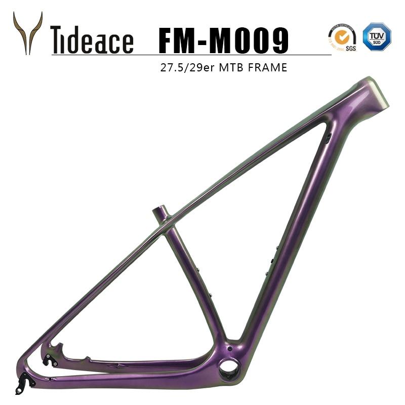 carbon frame 29 tideace - Tideace UD Chameleon 29er carbon frame Chinese MTB carbon frame 27.5 carbon mountain bike frame 650B disc carbon fiber frame 29
