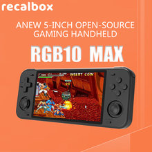 powkiddy rgb10 max Handheld Game console 128G Pre-installed 30,000 Games Built-in WIFI Vibration Boyfriend Gift