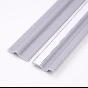 Image 5 - Zelfklevende Raam Afdichting Strip Geluiddichte En Winddicht Nylon Doek Schuim Deur Weer Rubber Strip Voor Schuiframen