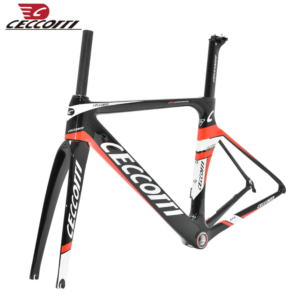 2019 New Ceccotti  T800 Carbon Road Bike Frame Cycling Bicycle Frameset Super Light  Di2/mechanical Racing Carbon Road Frame
