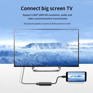 Image 5 - Estación de acoplamiento 7 en 1 para ordenador portátil, TYPE C PD, concentrador USB, Multi superficie de carbono, puerto HDMI de alta velocidad para Lenovo, Samsung, Dock, Macbook Pro