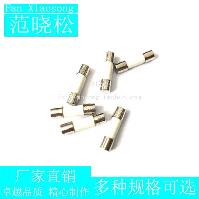10 adet 6*30mm seramik sigorta tüpü sigorta R058 RO58 6x30mm 250V 0.5A 1A 2A 3A 4A 5A 6A 8A 10A 12A 15A 20A 25A 30A