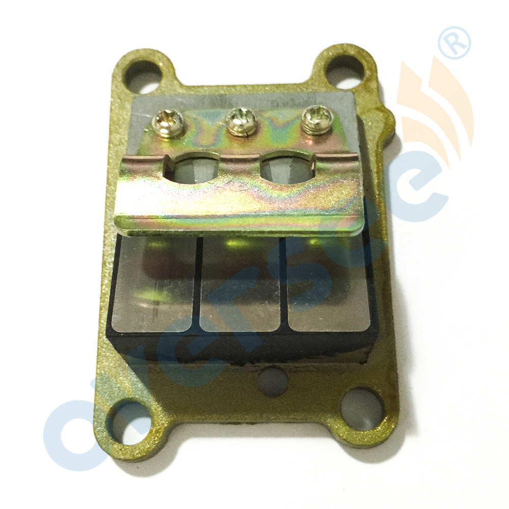 6E0-13610-00 REED VENTIL ASSY für Yamaha Parsun Hidea 4HP <font><b>5HP</b></font> außenbordmotor, Boot Motor Aftermarket Teile 6E0-13610 image