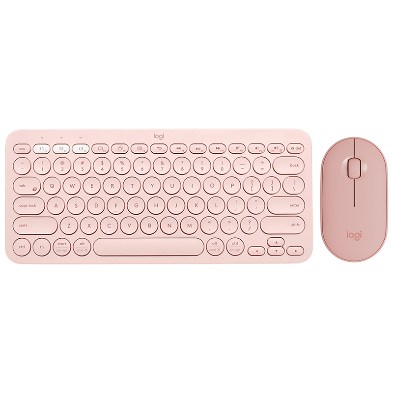 K380 and Mouse Pink