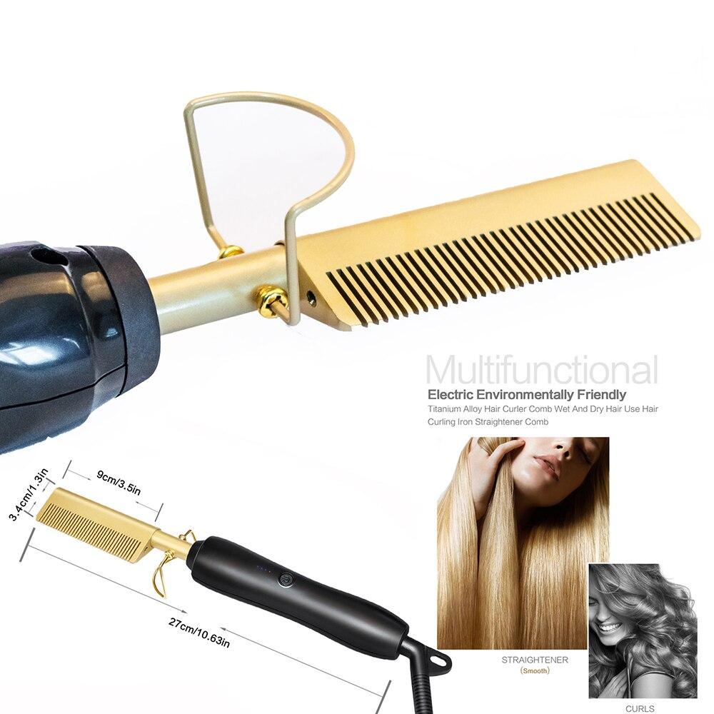 1 alisador de cabelo e modelador cabelo crimper curling tongs