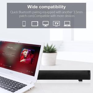 Image 3 - Bluetooth soundbars 、ポータブル有線およびワイヤレスミニサウンドバースピーカーホームシアター用サラウンドサウンド