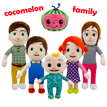 6pcs-set-cocomelon-plush-toy-carton-baby-cocomelon-jj-family-stuffed-dolls-20cm-33cm-for-kids-christmas-gift