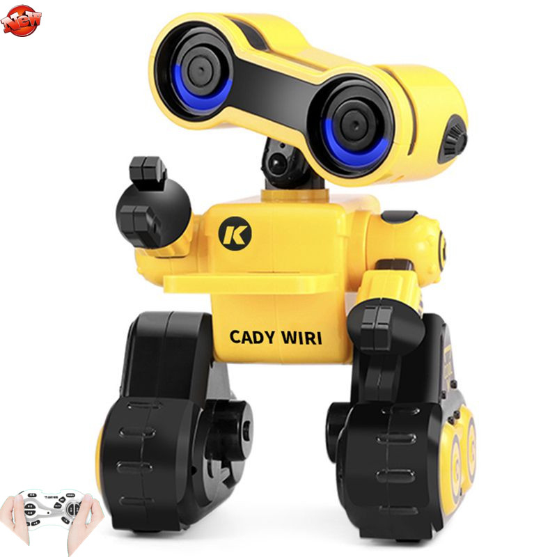 Intelligent Wireless Control Touch Induction RC Robot Model 2.4G Recording Programming Interaction Dancing Delivery Robot Toy