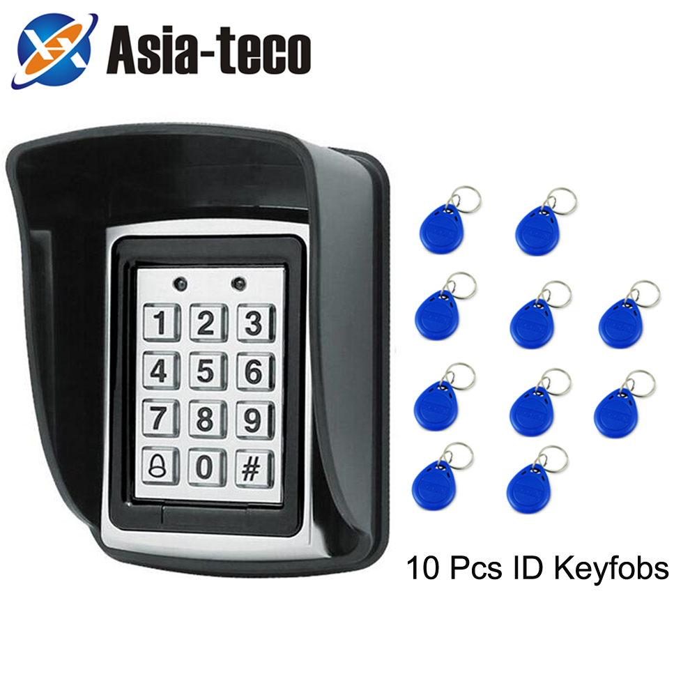 RFID  Password Access Control 1000 Users 125kHz Card Reader Keyboard Access Control System Suit Is Applicable To Most Door