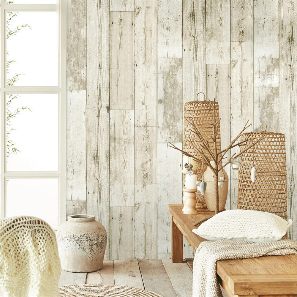 White Wood Contact Paper Waterproof Self Adhesive Peel And Stick Wallpaper For Cabinets Countertops Wood Sticker Wall Paper