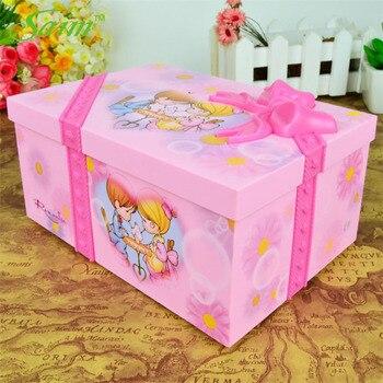 Saim Dream Girl Music Box Plastic Musical Jewelry Boxes Hand Crank Music Box Dancing Ballerina