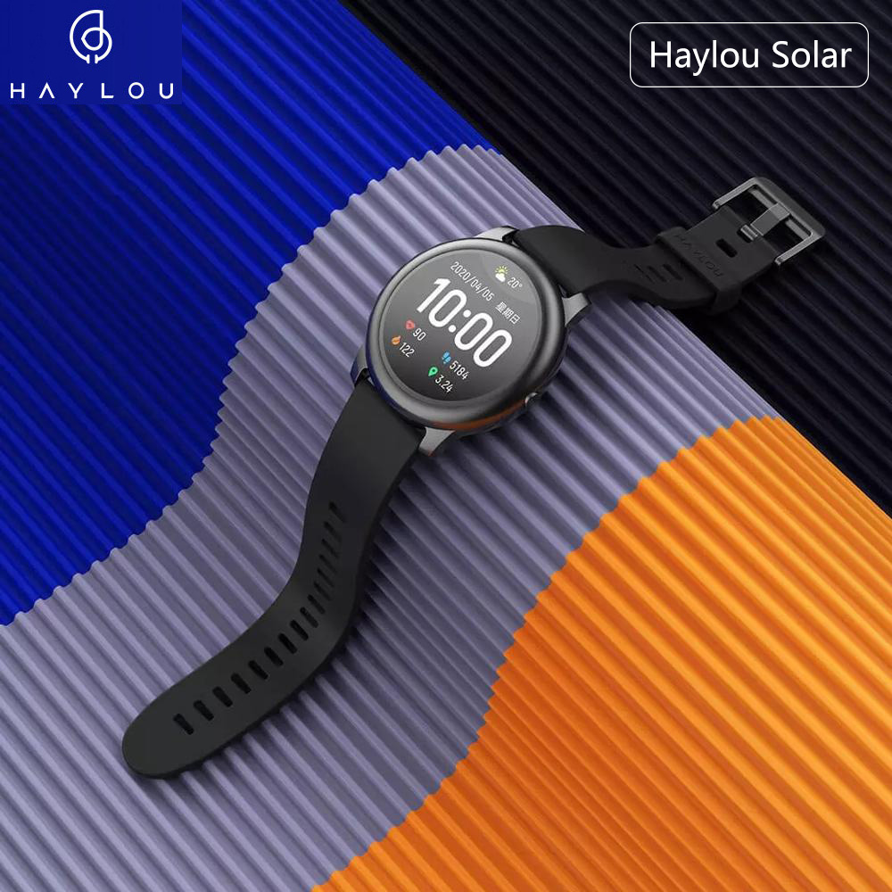 2020 Smart Watch Haylou Solar Smartwatch Global Version Sports Waterproof Reloj Inteligente Heart Rate Pedometer For Android IOS