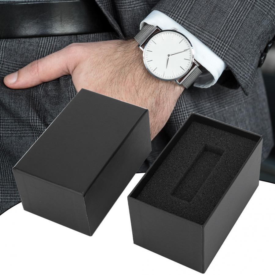 Watch Gift Box Classical Watch Box Portable Exquisite Paper Material Gift Watch Box Watch Case Watch Accessory for Watch Storage