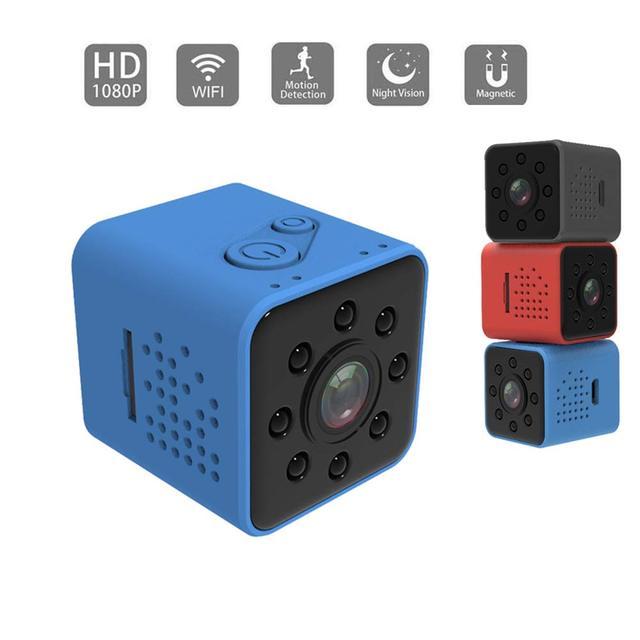 Video Mini Camera Wifi HD 1080P Cảm Biến Nachtsicht Micro Máy Quay Chuyển Động Đầu Ghi Hình SQ11 SQ12 SQ13 SQ23 DV Video Kleine kamera Cam