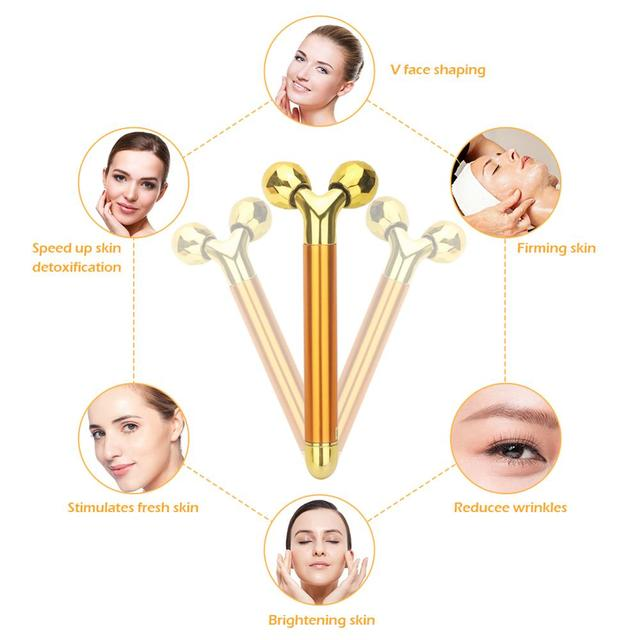 VeryYu Massage and Facial Lifting Anti-wrinkle Roller Ball Face Care Personal Care  VeryYu the Best Online Store for Women Beauty and Wellness Products