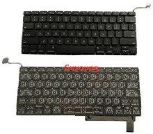 Teclado para Macbook pro de 15.4 polegadas laptop MB985 A1286 MB986 MC371 MC372 MC373 MC721 MC723 MD103 MD104 teclados