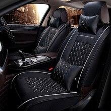 Uniwersalny skórzany fotelik samochodowy pokrowiec na bmw e90 e46 520 525 320x3 f25 x5 e70 f10 f20 x1 x6 x4 e36 wszystkie modele akcesoria samochodowe