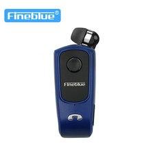 Fineblue f920 fone de ouvido sem fio bluetooth handsfree fones chamadas lembrar vibrador usar clip driver para telefone f910 f2 pro