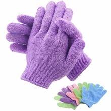 Body Scrub Exfoliating Glove Peeling Bast Wisp Massage Moisturizing SPA Foam Sponge Skin Care Washcloth Shower Accessories