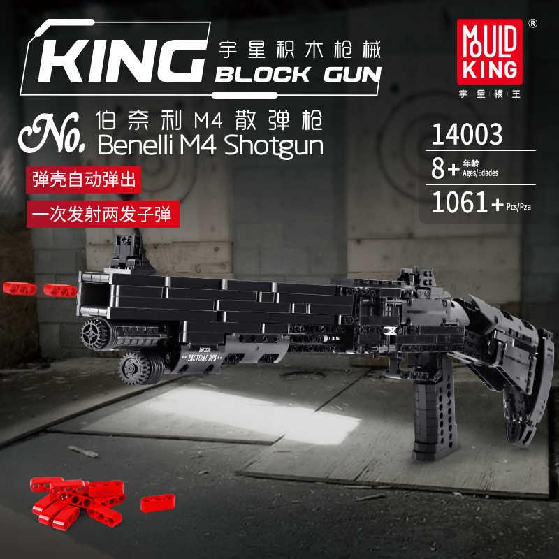 Fit Technic Serie Pistolen Maschinenpistole und Automatische gewehre Können Feuer Kugeln Set Modell Bausteine Spielzeug Für Jungen Lepining