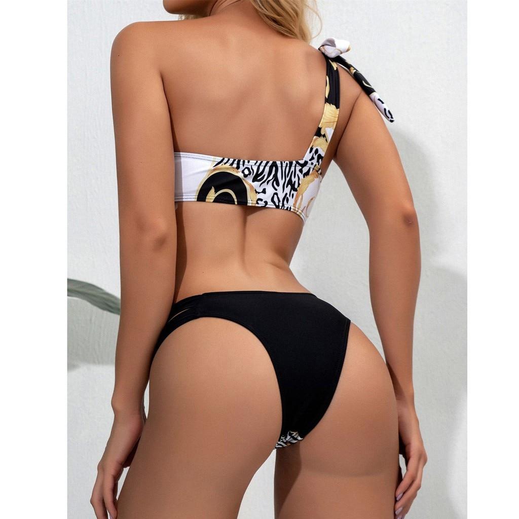Bikini sexy fleurs imprimées