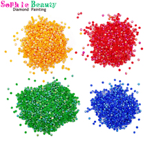 AB Drills Painting Stones Square Diamond Embroidery Mosaic Round for DIY Colorful Sale
