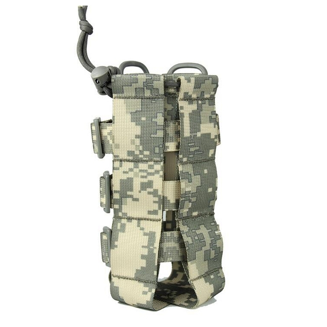 2020 New Tactical Molle Water Bottle Pouch Oxford Military Canteen Cover Holster Outdoor Travel Kettle Bag With Molle System 4