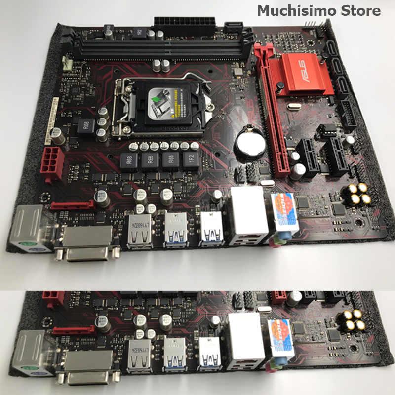 Asus EX-B150M-V3 masaüstü anakart DDR4 LGA 1151 Intel B150 DDR4 32GB PCI-E 3.0 USB3.0 mikro ATX i7 i5 orijinal kullanılan anakart