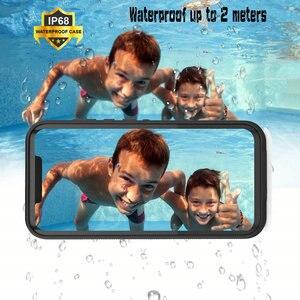 Image 5 - Mate30 5G Mate20 Pro IP68 Waterproof Case Funda Huawei Mate 20 Pro Case 360 Protect Shell Mate 30 Pro Case Water Proof Cover