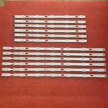 12 светодиодных лент для подсветки для UE50MU6125, UE49MU6200K, UE49KU6100K, UE49KU6172, UE49MU6100, BN96 40632A 40633A, V6DU 490DCA R0 490DCB